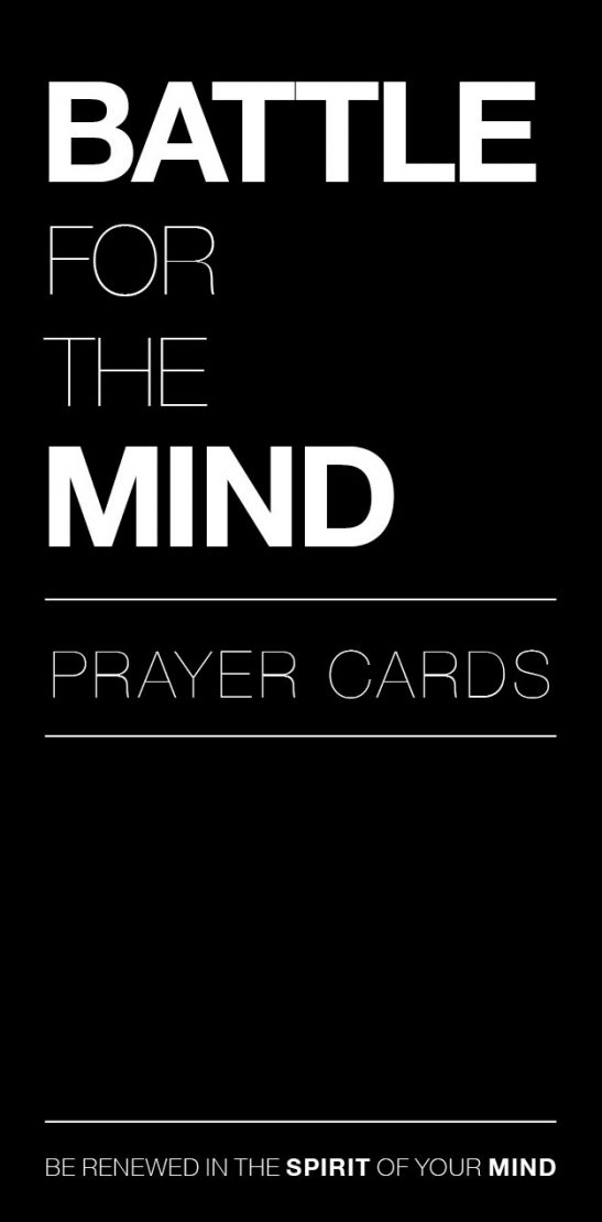Battle for the Mind Prayer Cards